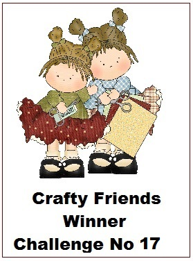 3 x Crafty Friends Winner