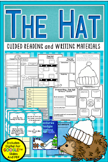 The Mitten and The Hat are featured texts in this post on making comparisons. Check out this post for lesson ideas and resources you can use.