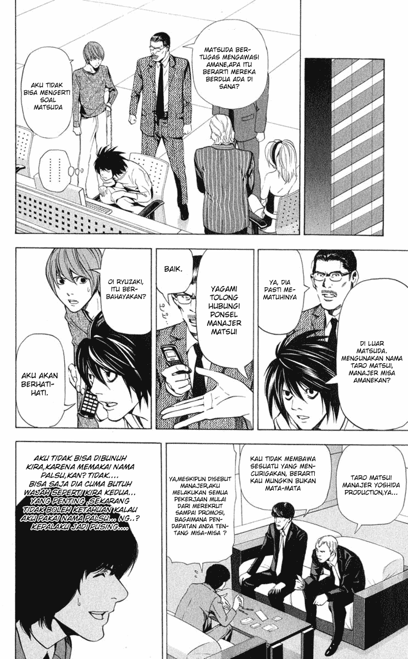 Baca Manga, Baca Komik, Death Note Chapter 42, Death Note 42 Bahasa Indonesia, Death Note 42 Online, Death Note 42 Indo