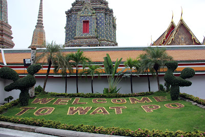 Gardens of Temple of the Reclining Buddha