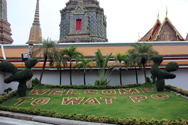 Jardines del Templo del Buda reclinado
