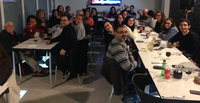 jantar de início de temporada GIPA e Grupo Cénico