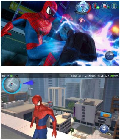 New The Amazing Spider Man 2 Apk + DATA Obb Versi 1.2.0 Mod Money Latest Free
