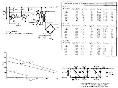 simple power converter circuit diagram