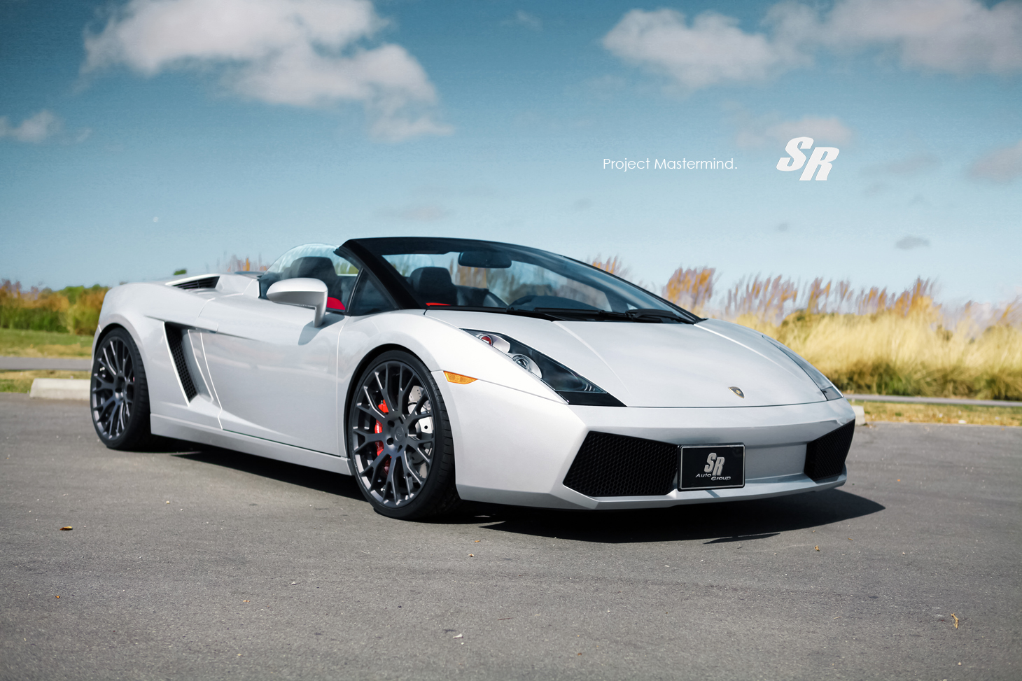 Gallardo Spyder White