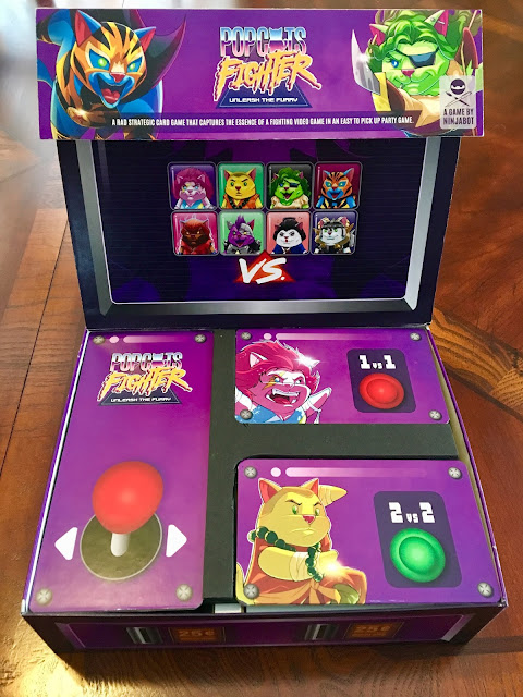 PopCats Fighter by The Ninjabot Box Arcade Console