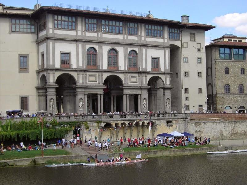 Galleria degli Uffizi in Florence