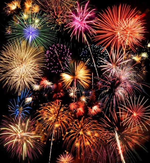 Neon Fireworks