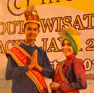 Rais dan Mardhati, Duta Wisata Aceh Jaya