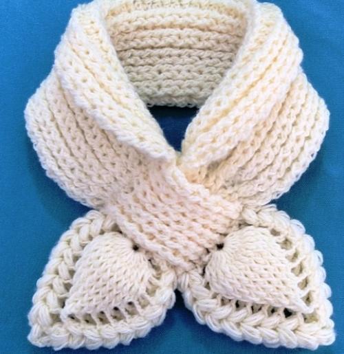 Crochet 3D Scarf - Free Pattern