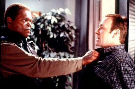 Samuel L. Jackson Kevin Spacey The Negotiator 1998 action movie