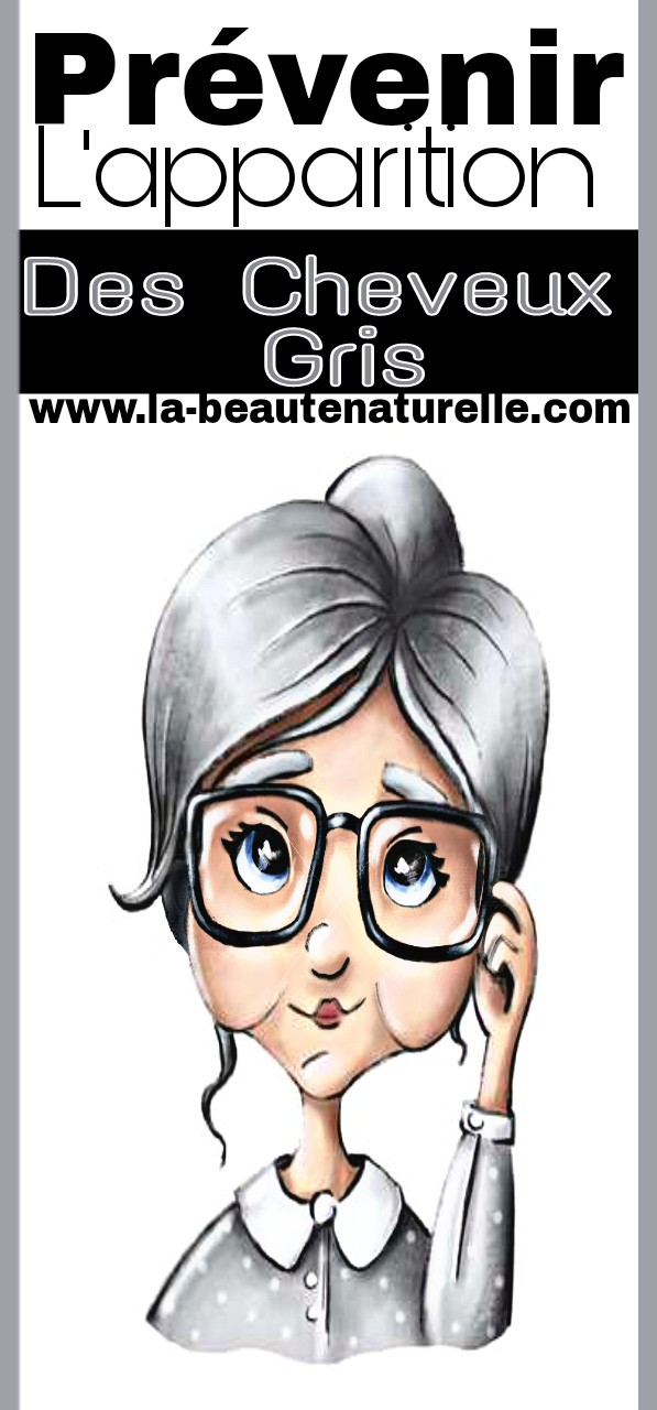 Prévenir l'apparition des cheveux gris