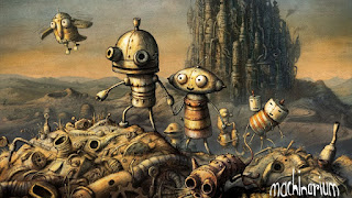 Game android offline : Machinarium