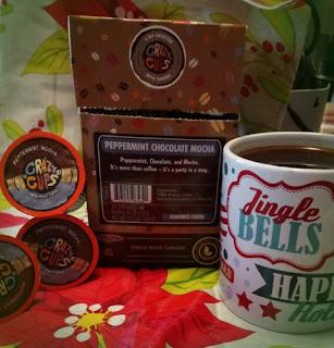 Crazy Cups Peppermint Choccolate Mocha Coffee