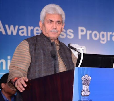Jaipur, Rajasthan, Manoj SInha, Department of Telecom, myths on EMF radiation, Mobile Towers, Digital India Initiative, DoT