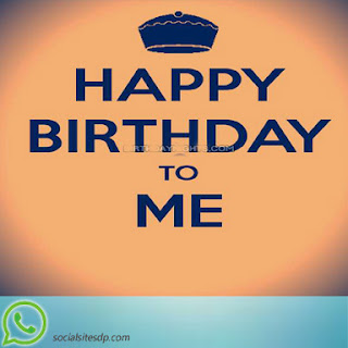 Happy birthday to me DP