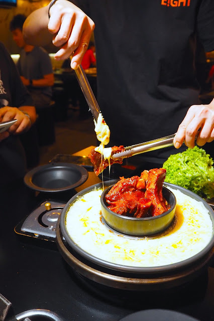 korean cheesy spare ribs in singapore