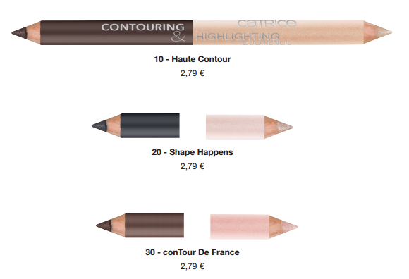 Catrice Contouring & Highlighting Duo Pencil