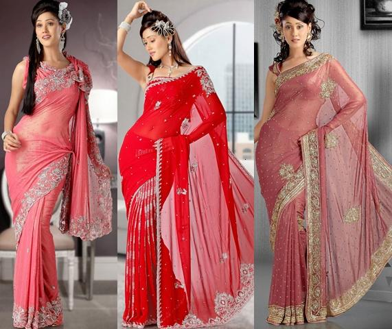 d9feb0c10 Latest Trend of Saree 2012 For Women of Pakistan and India. Labels  Indian  Fashion Saree