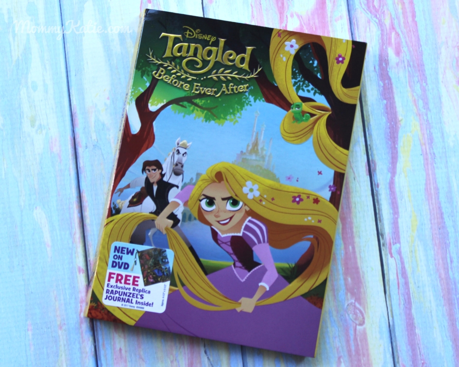 Tangled Before Ever After on DVD - Mommy Katie
