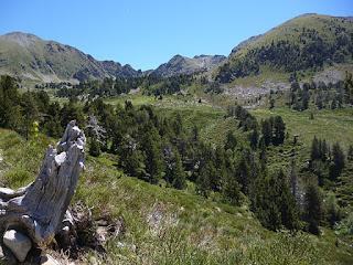 Panorámica desde la Cabana Aragó (2125 m)