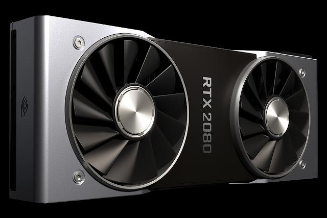 بطاقة Nvidia RTX 2080 الجديدة