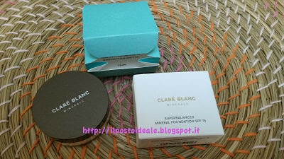 Claré Blanc Superbalanced Foundation col. 520 warm - very light