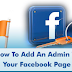 Add An Admin to Facebook Page