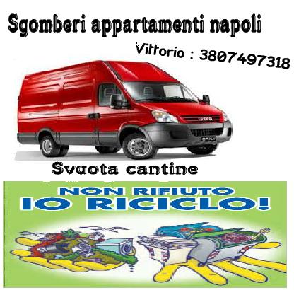 Sgomberi napoli appartamenti cantine box garage for Appartamenti napoli