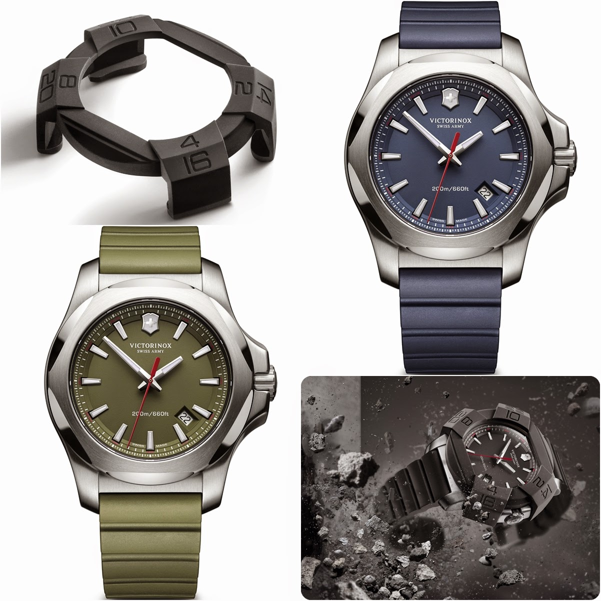 I.N.O.X. From Victorinox - Setting History In Time