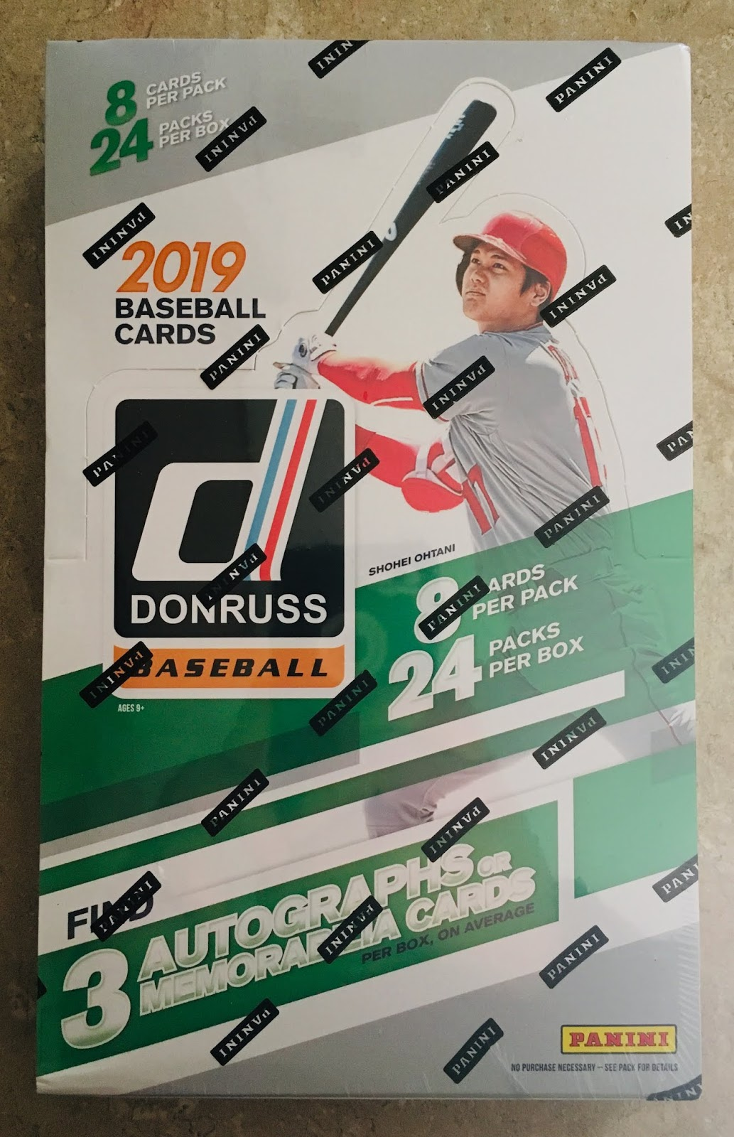 bb34944a8a65 Each year I think Panini is doing a better job and when I saw the ads  solicited for 2019 I knew I wanted back in.