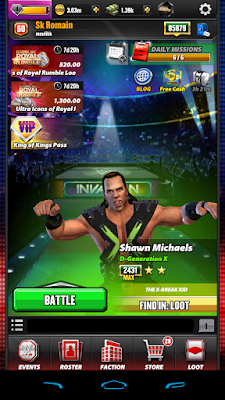WWE Champions 0.341 Update