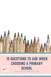 10 questions to ask when choosing a primary school pin