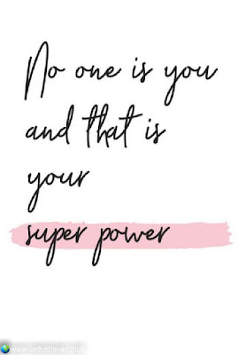 No One Is Your  And That Is Your  Super Power,,!!  #motivationalquotes #inspirequotes   #quotes