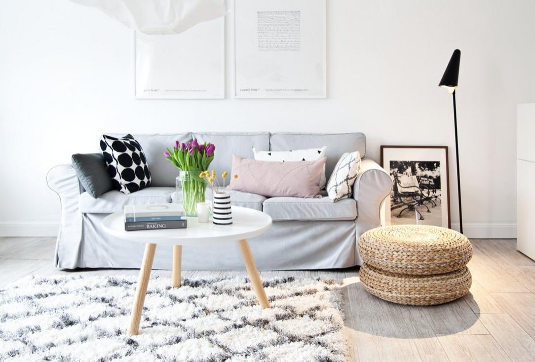 Einrichtungsinspirationen Skandinavischer Wohnstil Werbung