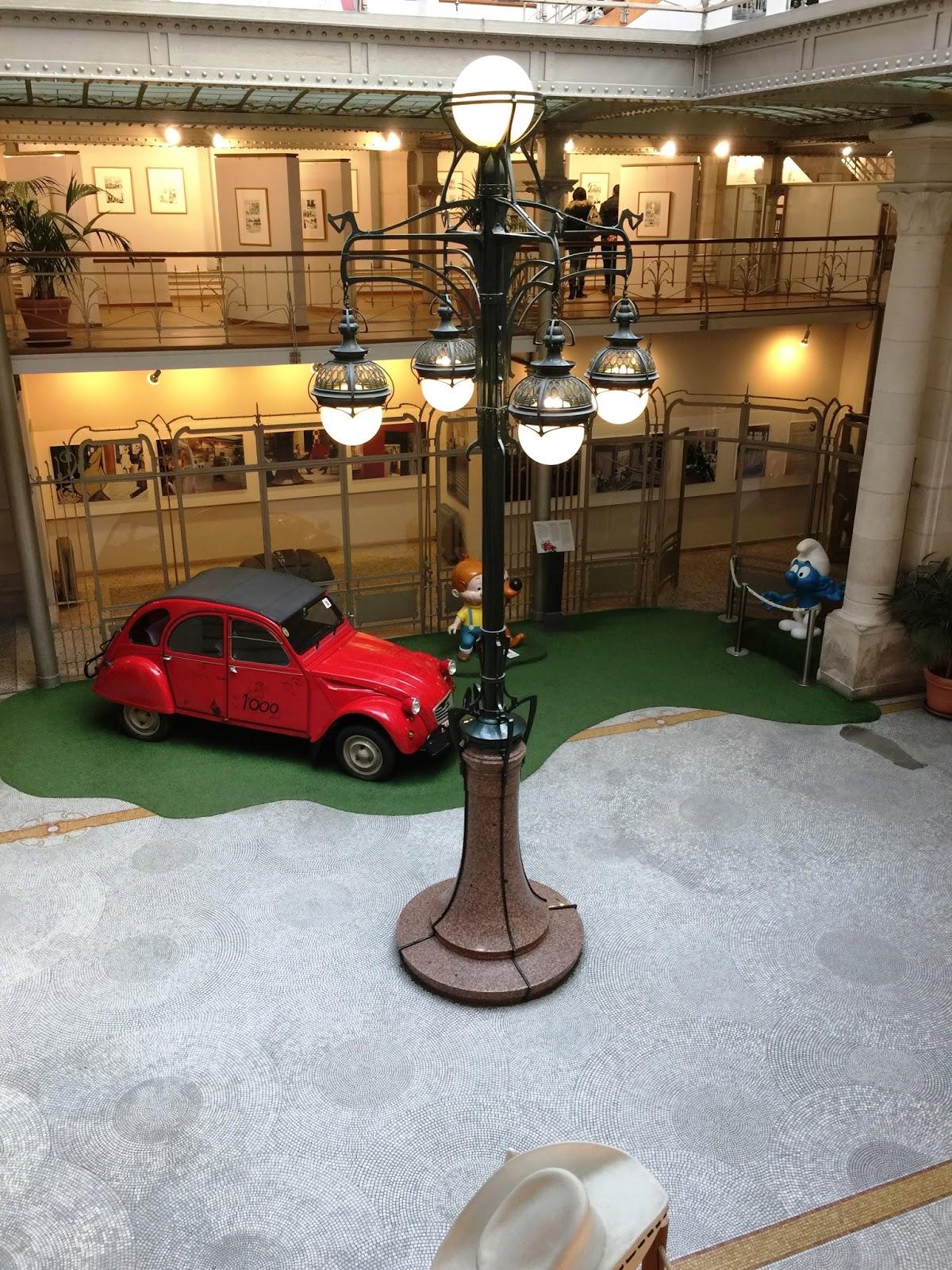 Musée BD Belgique Bruxelles Tintin