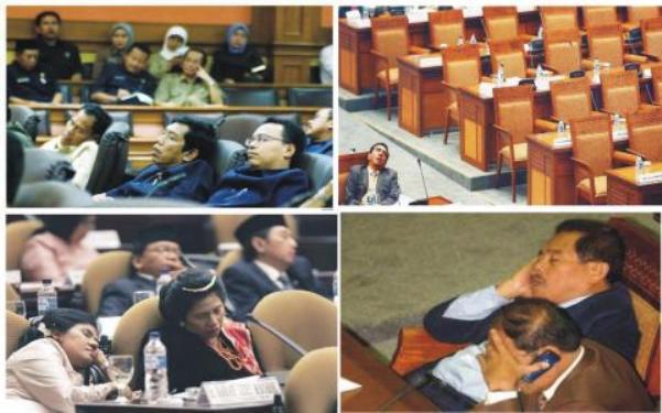 Jarang Diperhatikan, Sekarang Anggota DPR Makin Malas