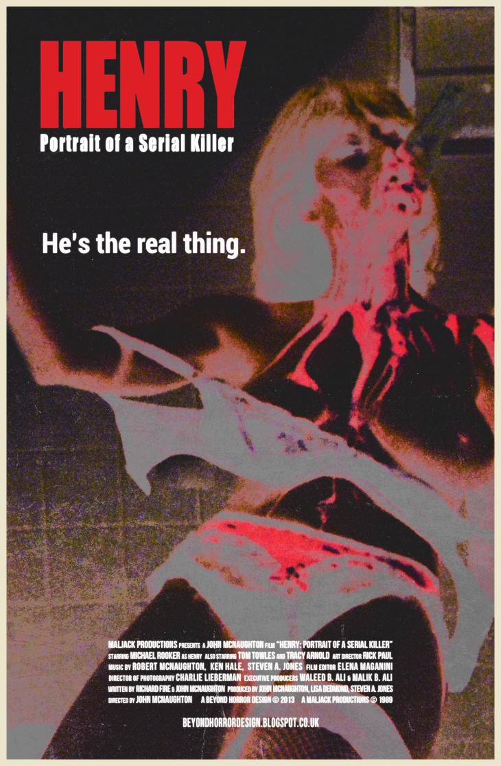 BEYOND HORROR DESIGN: HENRY: PORTRAIT OF A SERIAL KILLER ...
