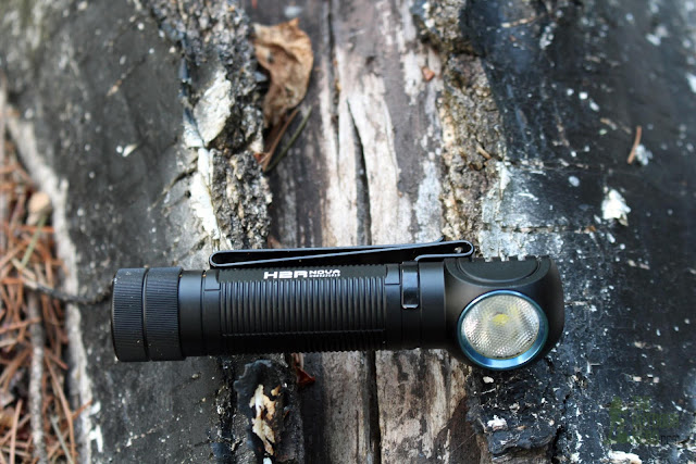 Olight H2R Nova LED Headlamp - Outdoors