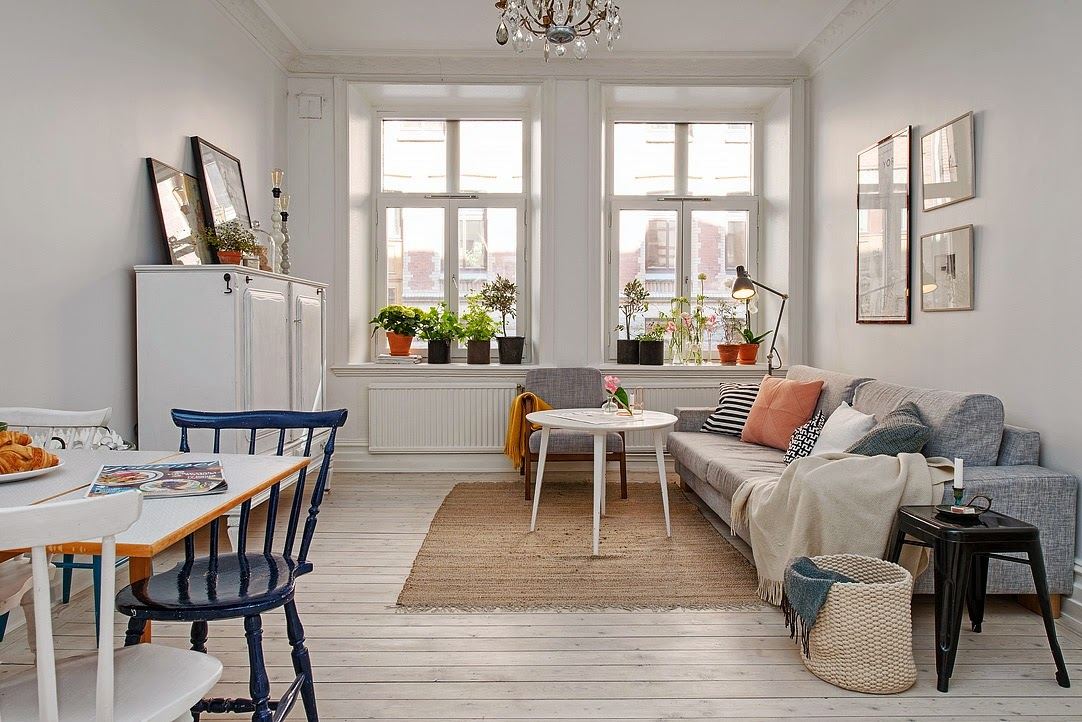 my scandinavian home a carefully laid out cosy swedish apartment. Black Bedroom Furniture Sets. Home Design Ideas