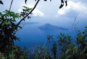 Along The Trail of a Krakatoa Eruption