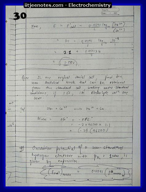 Electrochemistry Notes14