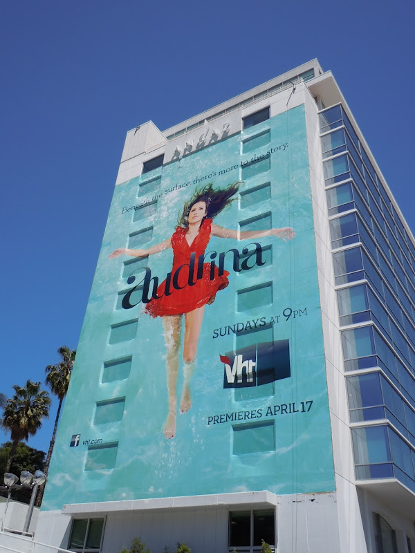 Giant Audrina Patridge billboard