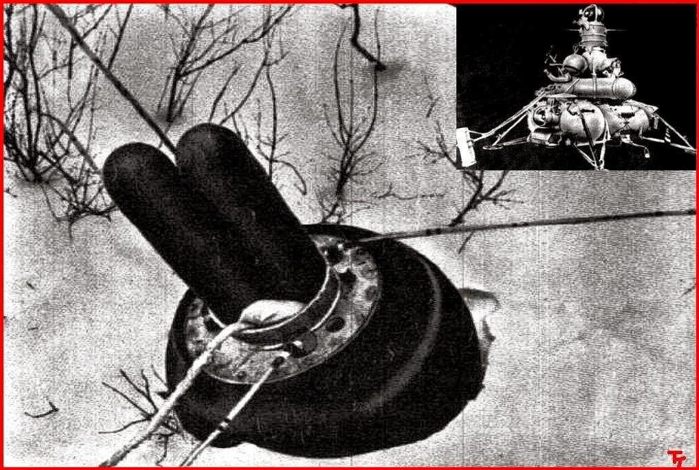 Il modulo di rientro della Luna 15, contenente il materiale lunare.