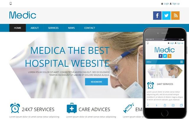 Hospital Website Design Content