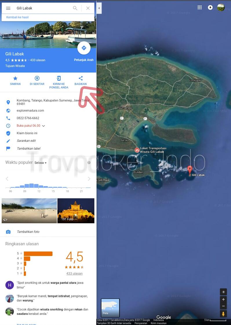 Cara Memasang Google Maps Di Website Atau Blog