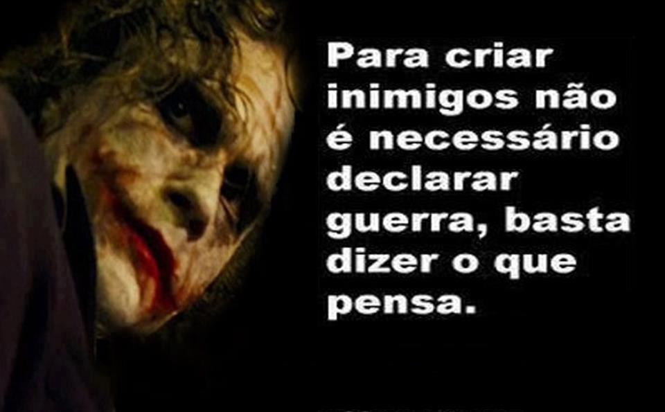 Imagem Do Coringa Com Frases De Amor