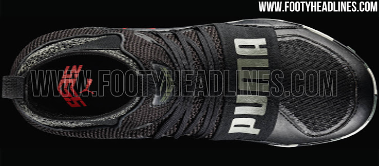6ac8deab80fd +1. The black Puma Ignite High ST football shoe retails at a price of 120  Euro