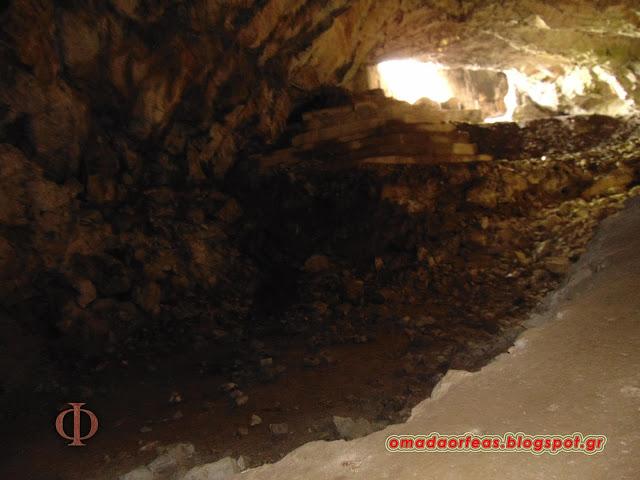 σπήλαιο Νταβέλη, ανεξήγητα φαινόμενα, Πεντέλη