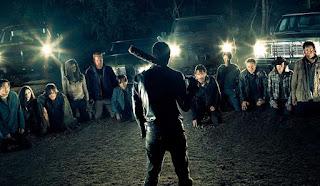 the walking dead: nueva promo de la septima temporada con negan en todas partes